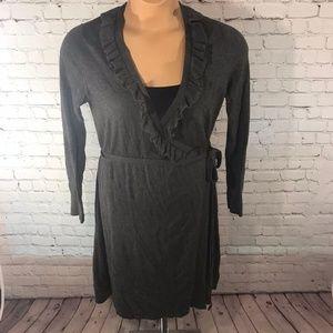 Merona Women's Sweater Dress Size Large Gray